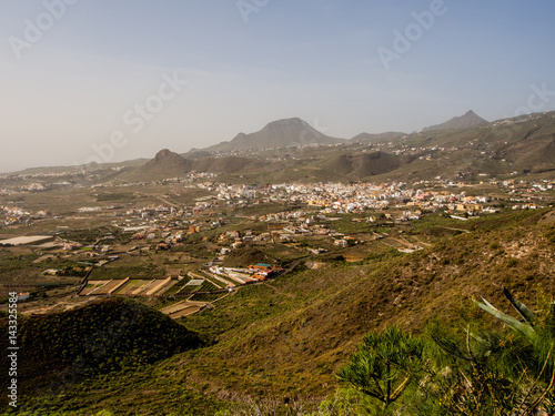 Poster Canarische Eilanden Beautiful landscape of Arona in Tenerife. Canary Islands. Spain