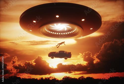 Photo  UFO Alien Abduction
