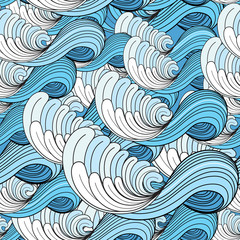 Obraz na Plexi Sea wave pattern