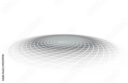 Fotografiet Round presentation platform