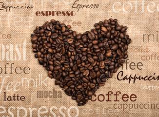 FototapetaLove coffee