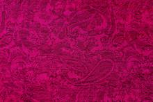 Purple Fabric Background