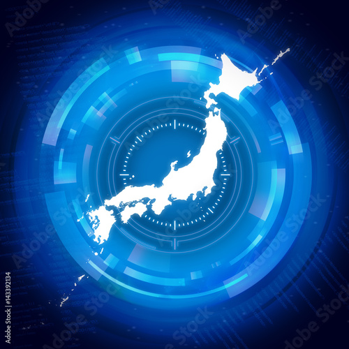 Photo セキュリティ日本地図