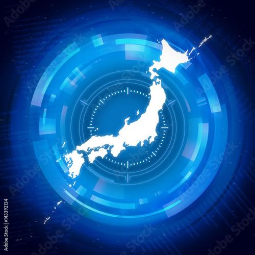 Fotografie, Tablou セキュリティ日本地図