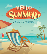 Summer Holiday. Enjoy The Holidays.