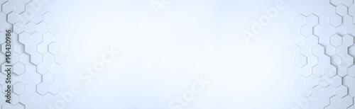 Photo  Panorama Hegaxon Muster als Hintergrund