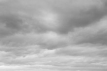Black White Cloud And Sky