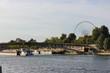 paris river seine boats and details