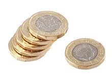 British New £1 Pound Coin.