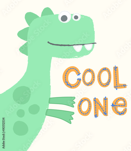 jasnozielony-usmiechniety-dinozaur-z-napisem
