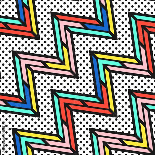 Obraz na płótnie kolorowy jasny wzór