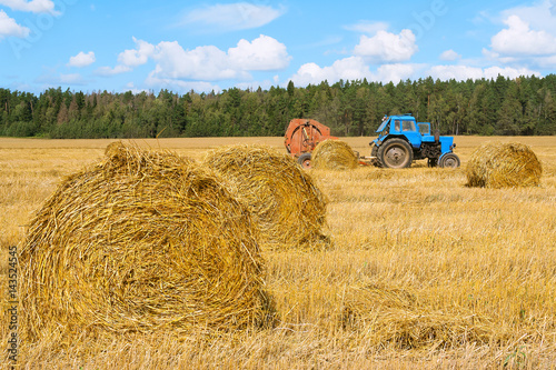 Fotografia, Obraz  Tractor for agricultural work