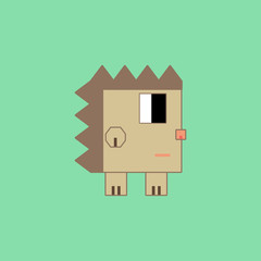 Cubic hedgehog.