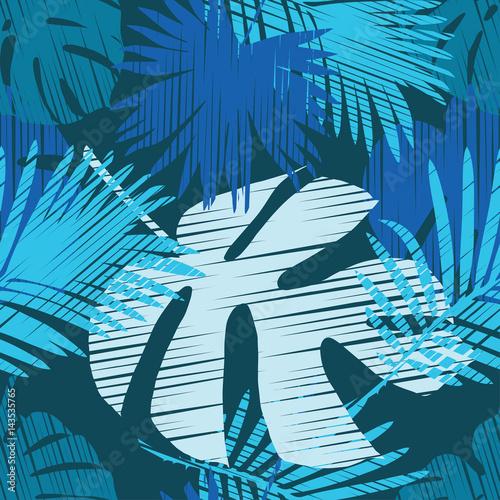 bezszwowe-tlo-z-ozdobnymi-liscmi-liscie-palmowe