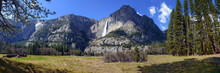 Panorama Of Yosemite Falls Swo...