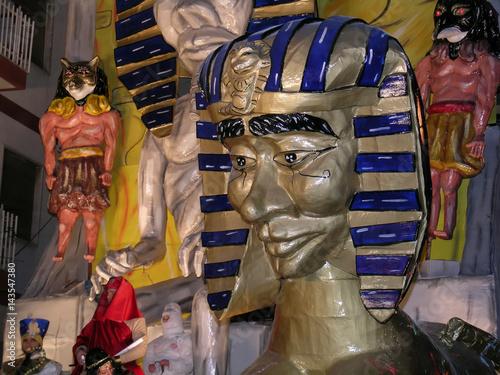 Fotografie, Obraz Carro allegorico carnevale di Massafra (Taranto)