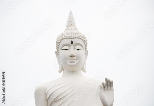 Recess Fitting Buddha Buddha statue in pubicpark Thailand.