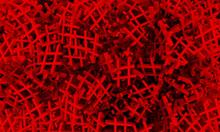 Red Hashtag Random Pattern Bac...