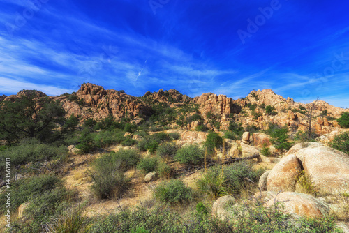 Foto op Plexiglas Donkerblauw The Marble Mountains