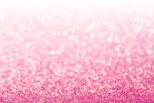 Abstract Glitter Pink Background
