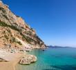 Cala Goloritze beach, Baunei, Sardinia, Italy