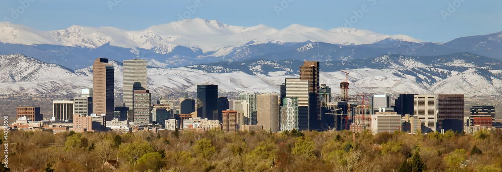 Fototapeta Downtown of Denver, Colorado