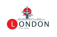 London Logo. Scene Of Big Ben....
