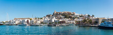 Eivissa Old Town Panorama, Spain