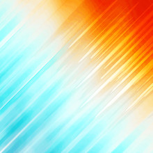 Summer Sun And Sky Vivid Orange And Blue Diagonal Design - High Resolution Illustration, Suitable For Graphic Element Element Backdrop Or Background Use.