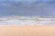 Sea stormy landscape