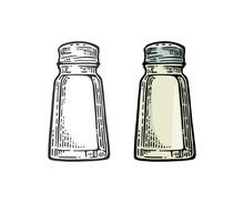 Salt Shaker. Vintage Black And...