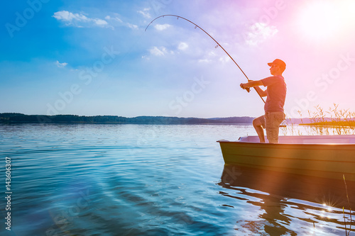 Acrylic Prints Fishing Fishing concepts.