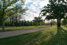 Memorial Park Trail In Houston Texas