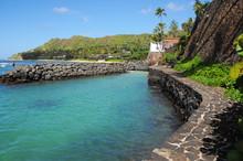 Cromwell's Cove Oahu Doris Duke Estate Shangri-La Lagoon Hawaii