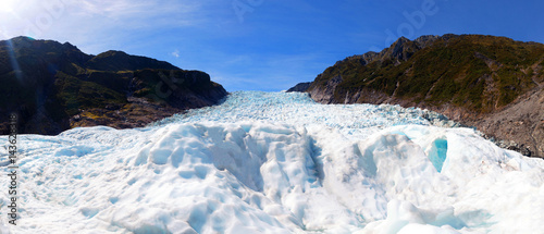 Fox glaciers Southern island, New Zealand Canvas Print