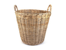 Laundry Basket Made Of Rattan ...