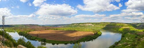 Foto auf Gartenposter Fluss river bend
