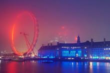London Skyline Before Sunrise ...