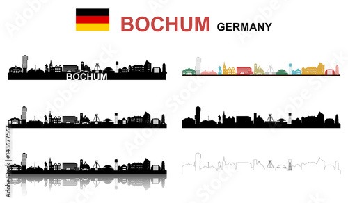 Fotografie, Obraz  Bochum Set