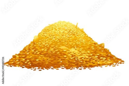 Fotografía  Pile of Gold Coins