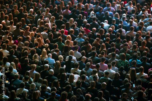 Zdjęcie XXL Publiczność w sali konferencyjnej