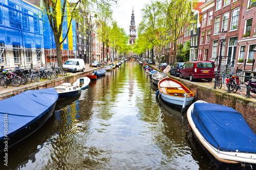 Photo  Urban scene in Amsterdam