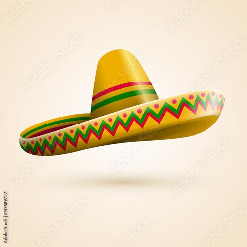 Fotografie, Obraz  Cinco de Mayo hat