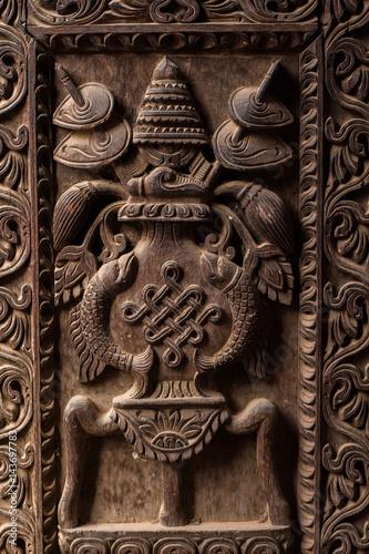 Wood Carving Plakat