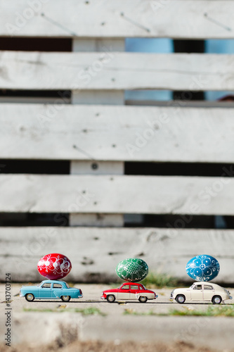 Stampa su Tela  Easter eggs decoration