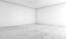 Empty Architecture Design. 3d ...