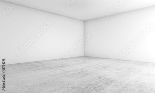 Fotografia  Empty architecture design. 3d illustration
