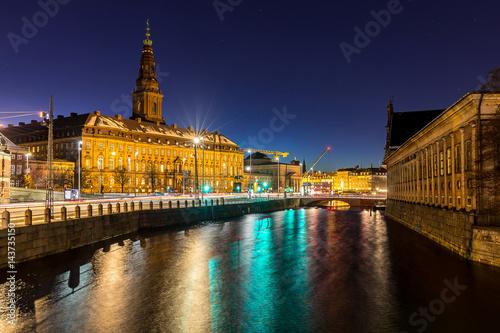 Fényképezés Copenhagen denmark night