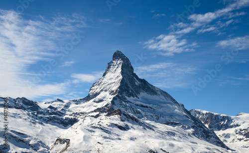 Fotografie, Tablou  Matterhorn peak in Zermatt, Switzerland