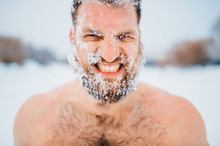 Portrait Of Russian Bearded Bo...